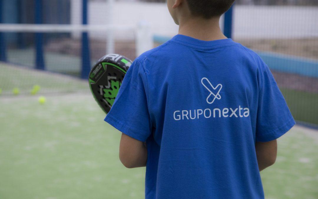 Patrocínio Grupo Nexta con Pádel Jubelama