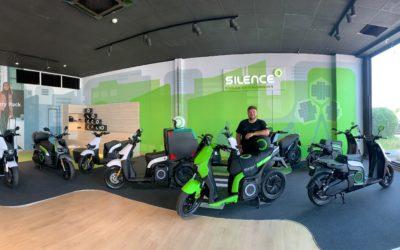 Nuevo concesionario de motos silence en Castellón